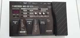 Último precio $190 Boss me25  Pedalera de efectos Guitarra