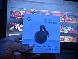 Convertidor A Smart Tv Chromecast Google 3 ORIGINALES