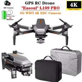 Drone L109Pro GPS gimble 2 ejes cardan camara 4k 1200m 25min sin escobillas brushless