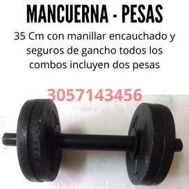 Mancuernas Pesas 35 CM