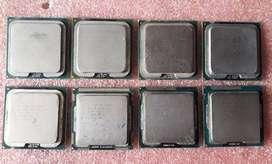 SE VENDE PROCESADORES INTEL SOCKET 775 - 1156 - 1155 PARA PC