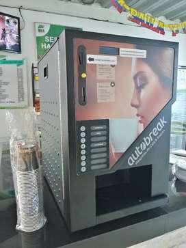 Dispensadora de cafe soluble