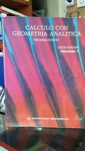 Cálculo con geometría analítica de Thomas / Finney
