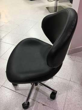 silla de manicurista