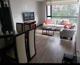 Rento departamento amoblado 100mts2, 3 dormitorios, Sector Bellavista