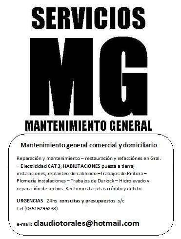 Servicio de Mantenimientos generales 0