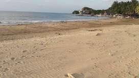 Lote al frente de la playa