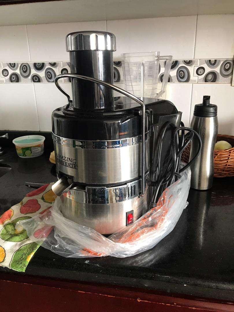 Extractor de jugos Amazing Power Juicer Casi nuevo poco Uso 0