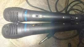 Vendo 2 micrófonos