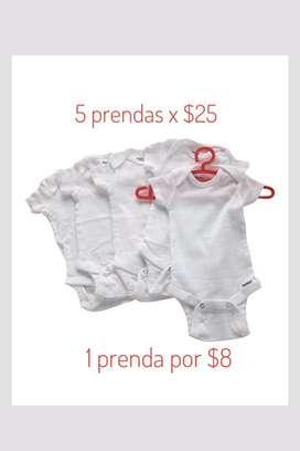 Nueva Ropa de bebe 0-6 meses