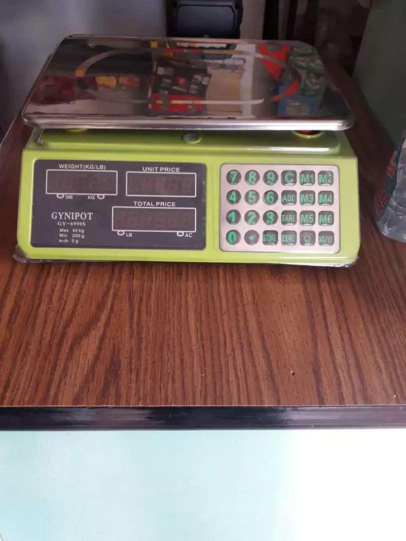 Báscula electronica