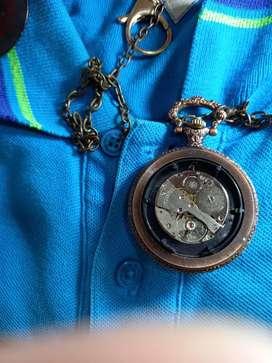 Vendo reloj de bolsillo original de cuerda  ferrocarril  de Antioquia
