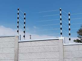 evita que el intruso entre a tu propiedad somos especialistas en cercas electricas contactanos