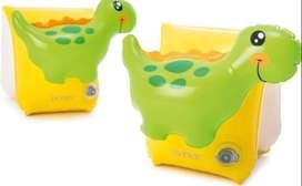 Flotador Brazo Dinosaurio Intex Aprendizaje Bebe Niños 56664