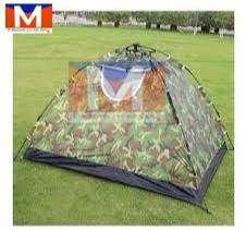 Carpa Camping Para 4 Personas Impermiable Reforzada Militar