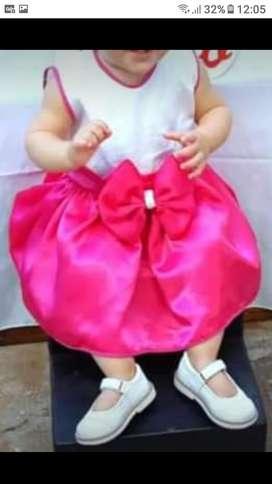 Vestido beba a partir de 1 Año se uso únicamente para la foto