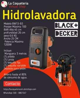 Hidrolavadora Black+Decker