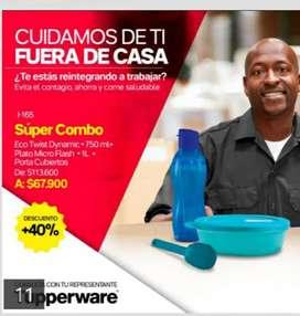 Combo Tupperware