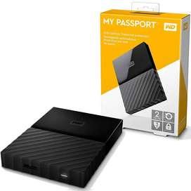 Disco Duro Wester Digital My Passport 2tb Original Completo