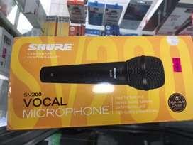 Microfono profesional shure  sv200