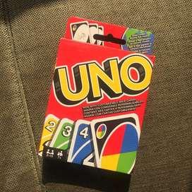 Juego UNO cartas, producto nuevo, sellado y original