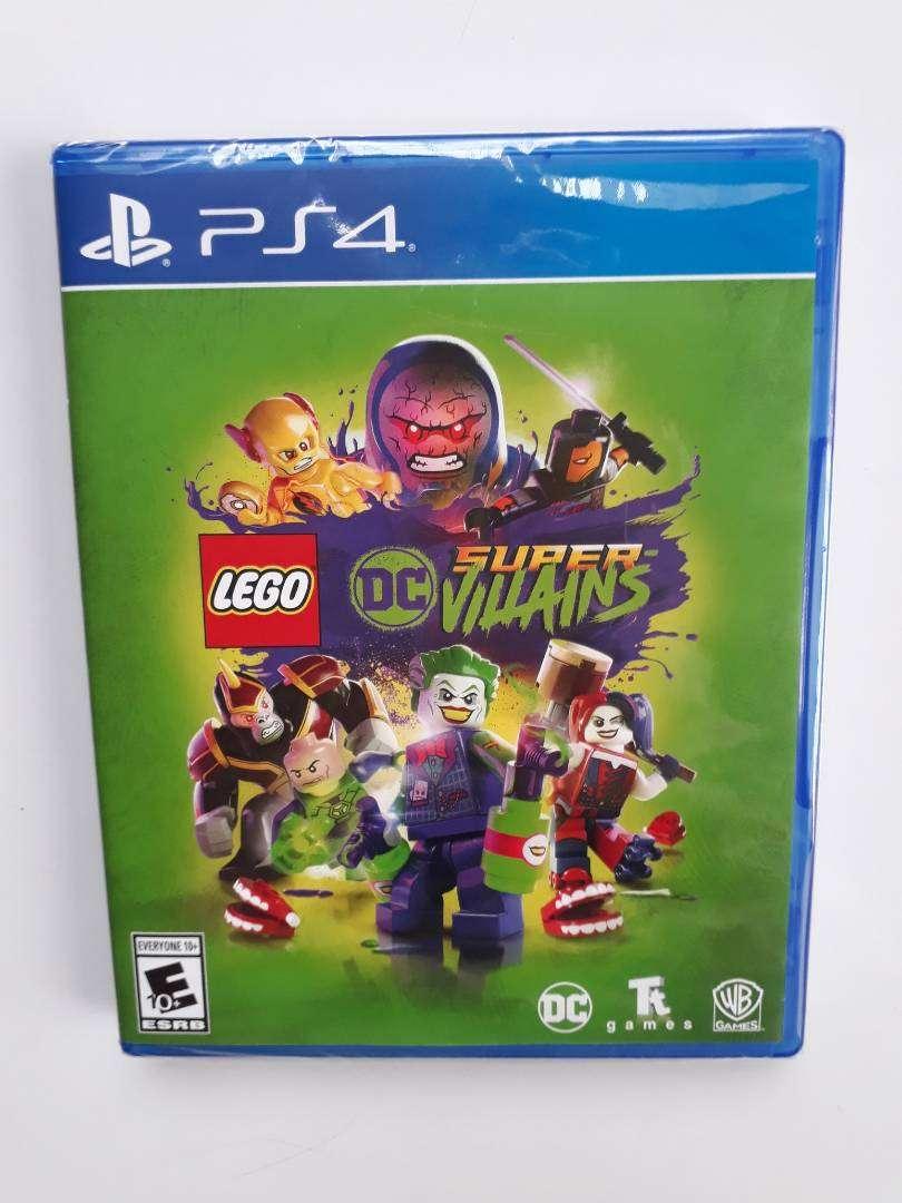 Lego Dc Super Villanos Villains Juego Ps4 Nuevo Y Sellado 0