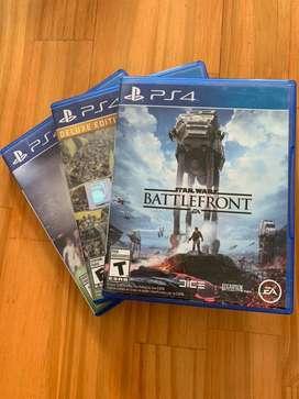 Combo de Juegos para PS4
