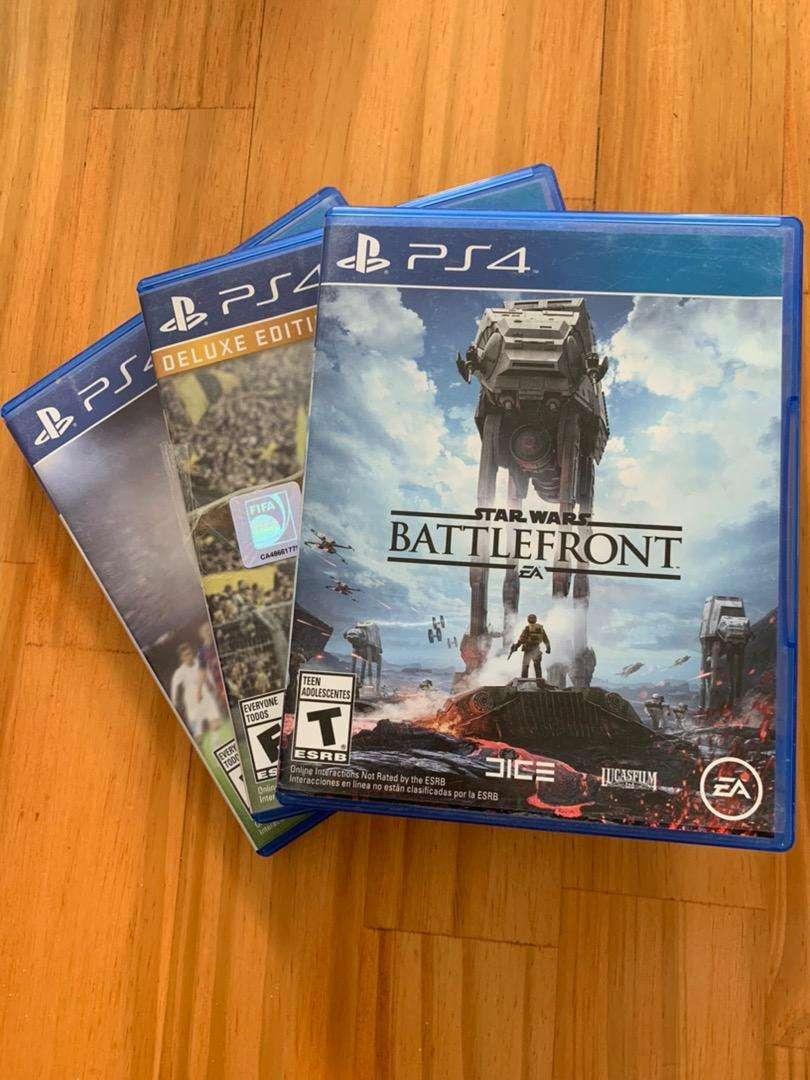 Combo de Juegos para PS4 0