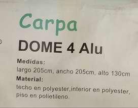 CARPA PARA 4 PERSONAS