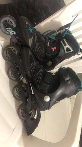 Vendo patines Semiprofesionales Talla 37