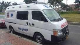 servicio de ambulancia  dentro y fuera de la ciudad