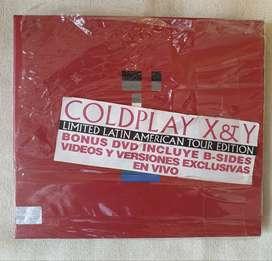 Coldplay X & Y Cd + Dvd Edicion Limitada