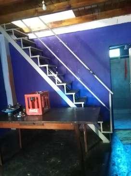 Remato escalera de hierro