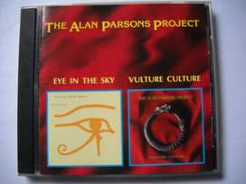alan parsons eye in the sky / vulture culture cd detalle tapa