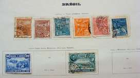 Sellos postales de Brasil 1920 – 1941