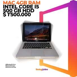MAC CORE I5, 4GB RAM HDD 500GB,