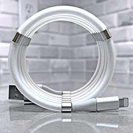 Cable de Datos Magnético Cargador Samsung y Iphone