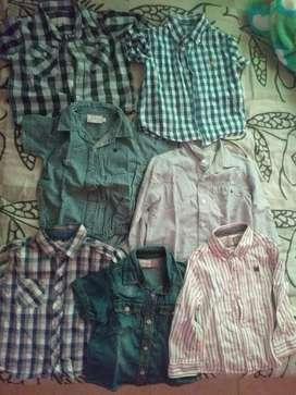 Set de Camisas para niño