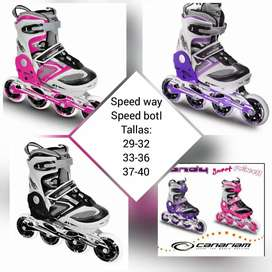 Patines Canariam Speed Bolt