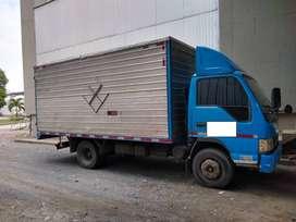 JAC 1061HFC modelo 2009 en furgon Precio Negociablele