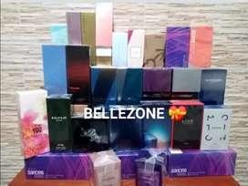 Perfumeria masculina y femenina en promoción