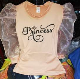 Ropa para las princesas de la casa