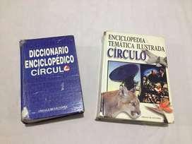 Vendo dos diccionarios enciclopédicos en perfecto estado.