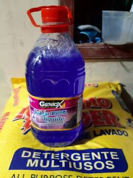Detergente,lejia y mas