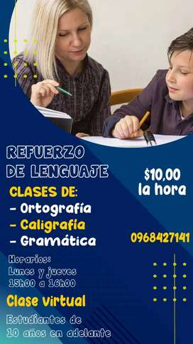 CLASES VIRTUALES DE REFUERZO