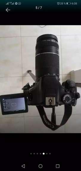 Vendo lente canon 75-300 en caja