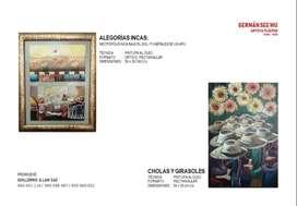 Pintura Piurana - Óleo - Arte Piura Perú