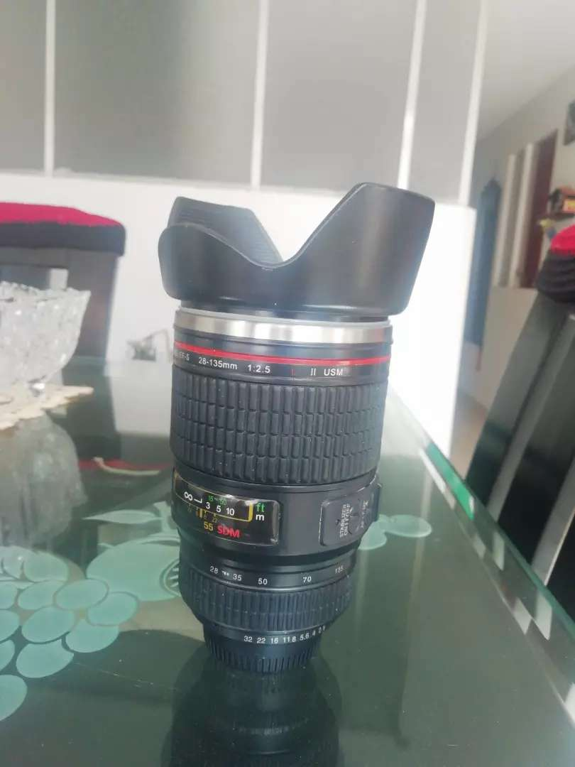 Termo lente cámara + estuche 0