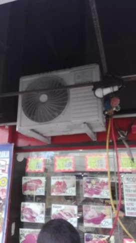Técnico en reparación instalación de aires acondicionado personal experimentado en el rugro