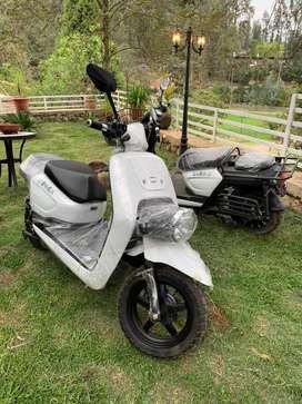 Motocicleta Eléctrica modelo Scooter 2019